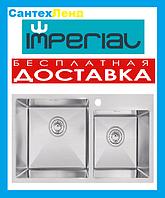 Мойка кухонная Imperial S7843 Handmade Двойная