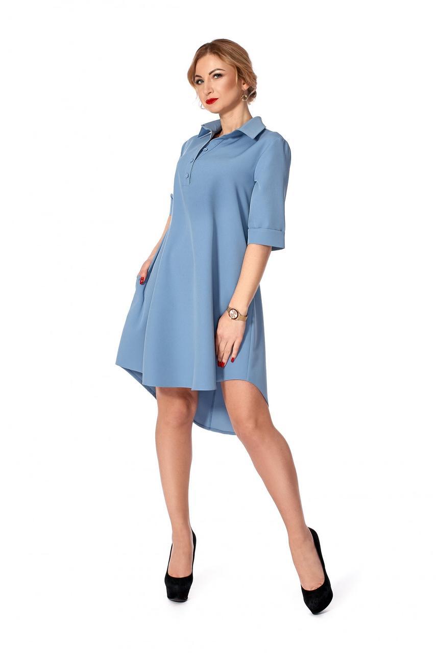 20c42423514 Я-Модна - купить Женское платье-рубашка А-образного силуэта   размер ...