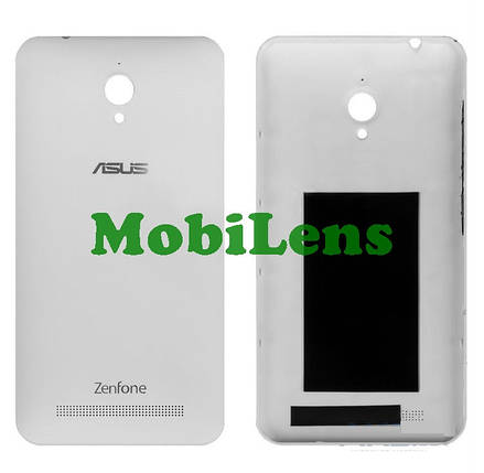 Asus ZC500TG, ZenFone GO, Z00VD Задняя крышка белая, фото 2