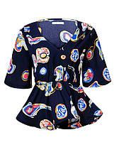 Оригинальная Блуза женская SS19 WCS-7877, фото 2