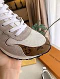 Кроссовки Луи Витон Ran Away натуральная кожа, фото 2