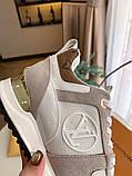Кроссовки Луи Витон Ran Away натуральная кожа, фото 6