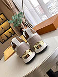 Кроссовки Луи Витон Ran Away натуральная кожа, фото 7