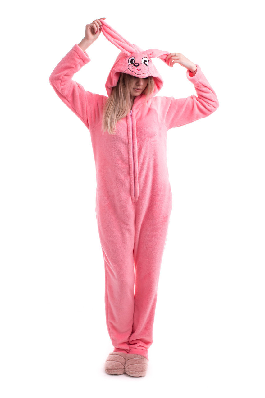 Домашний комбинезон пижама из махровой ткани
