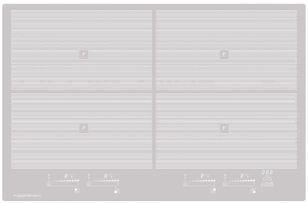 Индукционная варочная поверхность Kuppersbusch KI8800.0GR