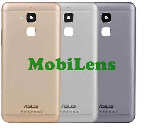 Asus ZC520TL, ZenFone 3 Max, Pegasus 3 X008D Задняя крышка серая, фото 2