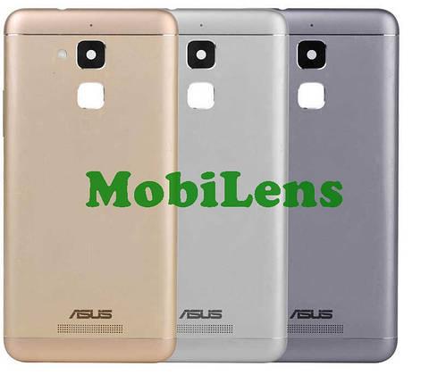 Asus ZC520TL, ZenFone 3 Max, Pegasus 3 X008D Задняя крышка серебристая, фото 2
