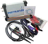 ISDS205X USB-осциллограф 2 х 20МГц,  с генератором сигналов и логическим осциллографом, фото 2