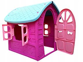 Мега большой садовый домик MOCHTOYS Pink