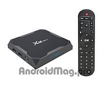 Андроид ТВ приставка X96 Max 4/32 Gb Amlogic S905X2