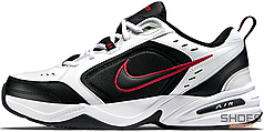 Мужские кроссовки Nike Air Monarch White/Black/Red