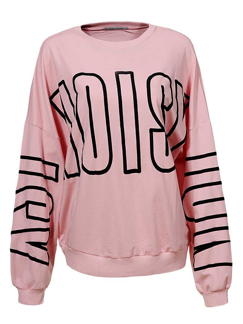 Оригинальный Пуловер женский  SS19 WPU-8269 Pink
