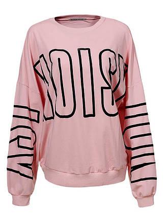 Оригинальный Пуловер женский  SS19 WPU-8269 Pink, фото 2