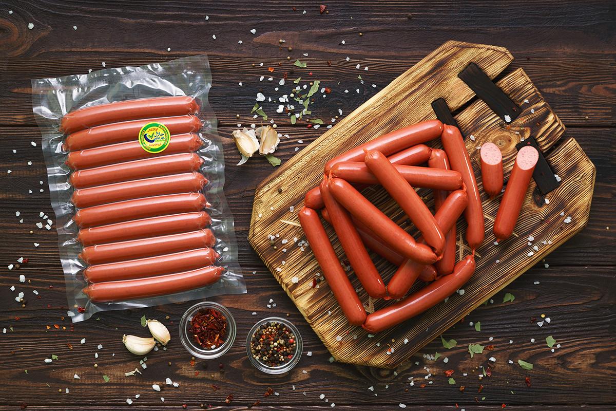 Охотничьи колбаски хот-дог