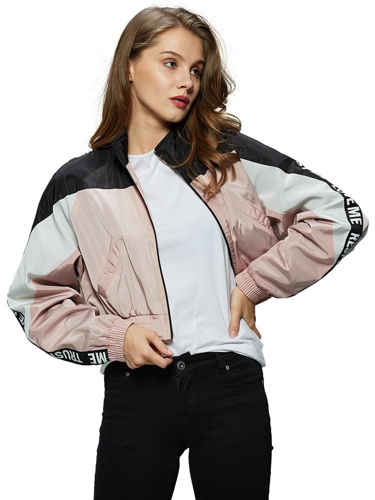Оригинальная Ветровка женская SS19 WFY-7837 Pink