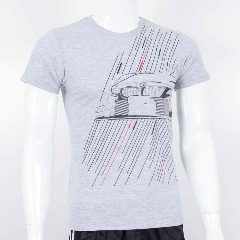 Молодежная футболка Nord, BMW (меланж)