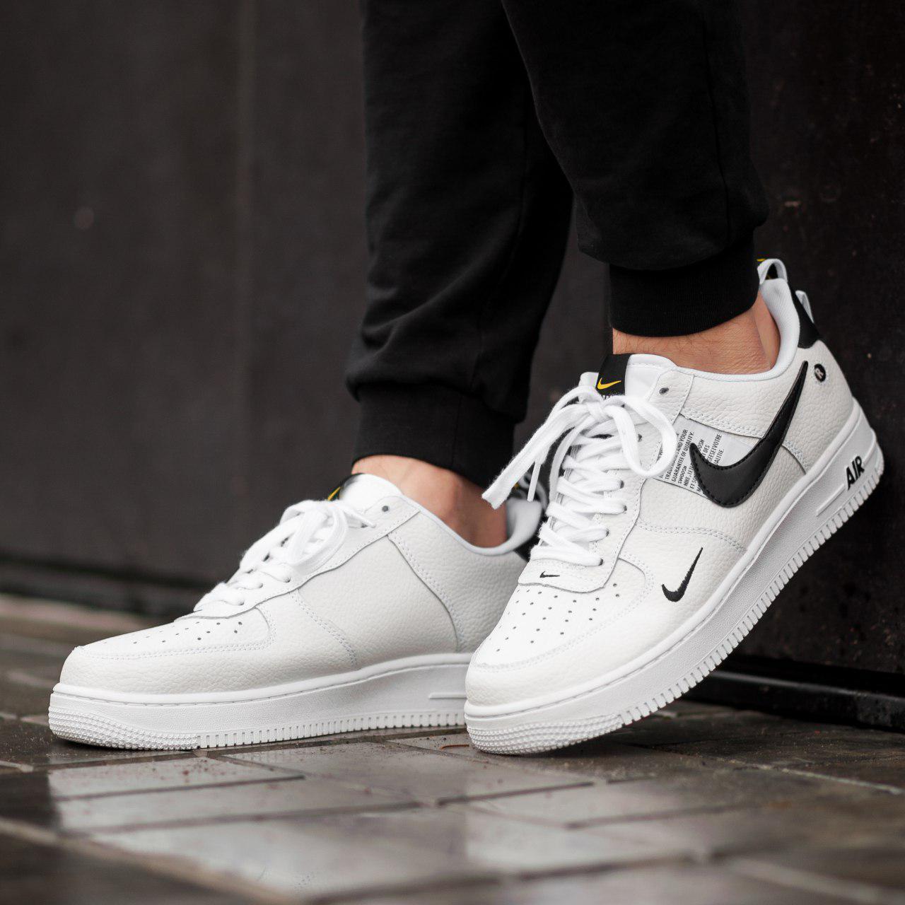 lowest price 3bb76 48726 Кроссовки мужские в стиле Nike Air Force LV8 Utility White (Реплика ААА+)