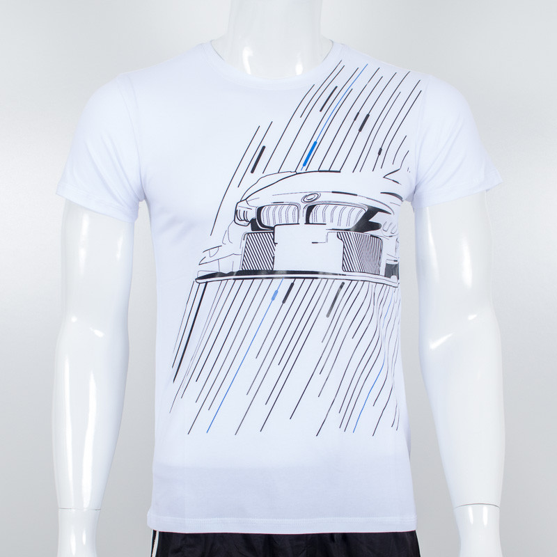 Молодежная футболка Nord, BMW (белый)