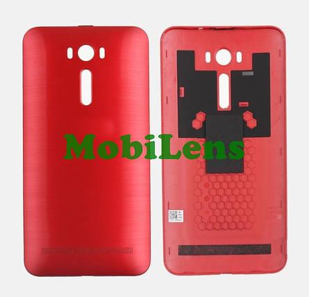 Asus ZE601KL, ZenFone 2 Laser, Z011D, ZE600KL Задняя крышка красная, фото 2
