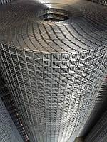 Сварная оцинкованная сетка для клеток. Ячейка: 12,5х12,5мм., Ø 1,6мм, Ширина: 1м.