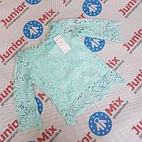 Оптом детские гипюровые  модные блузки для девочек, фото 1
