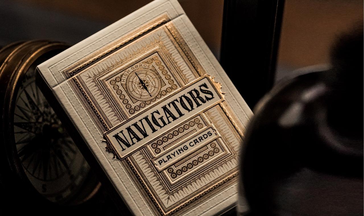 Карты игральные | Navigator Playing Cards by theory11