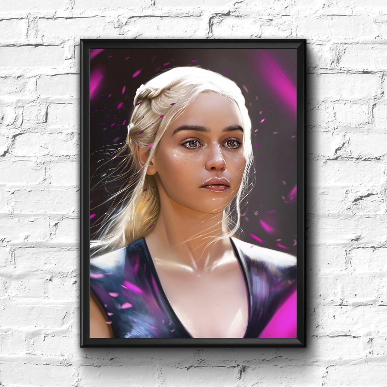 Постер с рамкой Game of Thrones #1