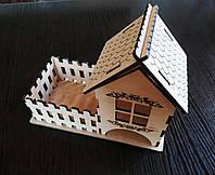 Чайный домик + забор