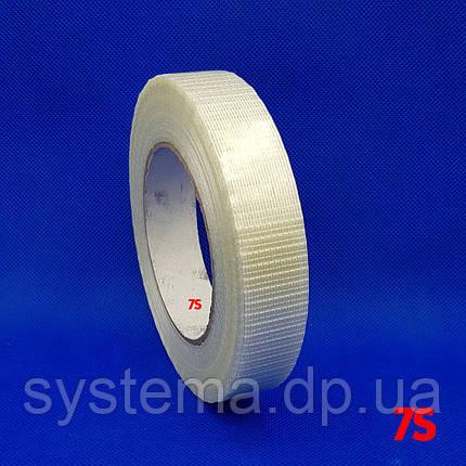 Клейкая лента с двунаправленным расположением нитей стекловолокна, 24 мм х 50 м, фото 2