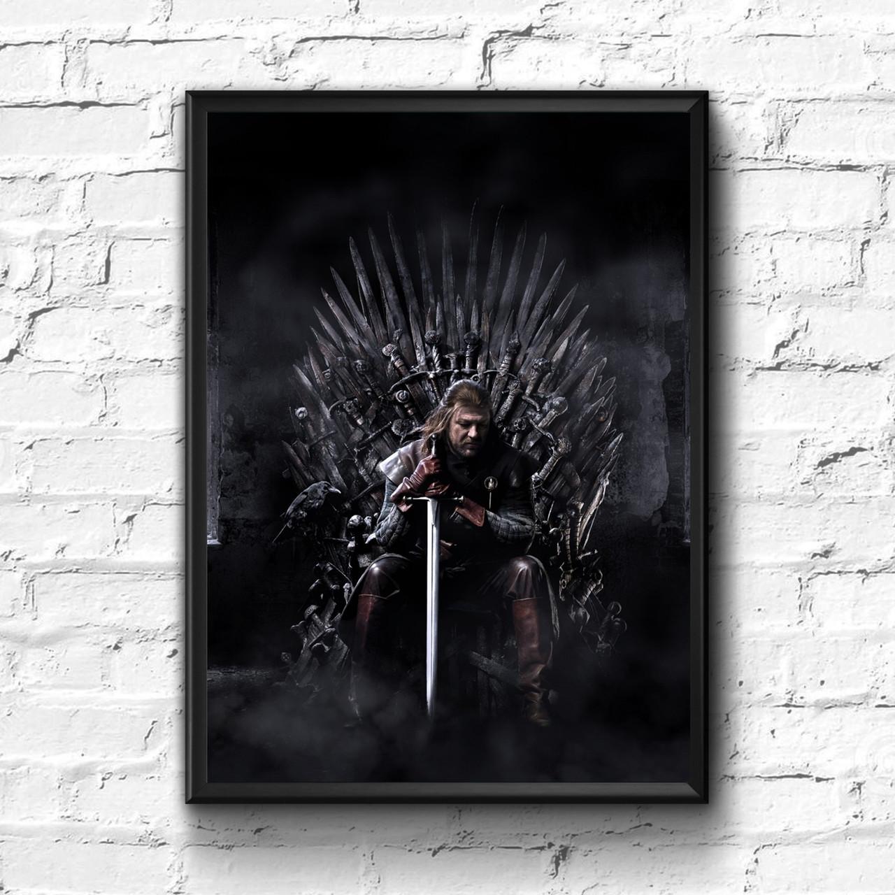 Постер с рамкой Game of Thrones #3