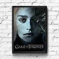 Постер с рамкой Game of Thrones #4