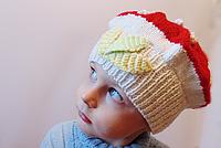 Детская шапка Гриб-мухомор