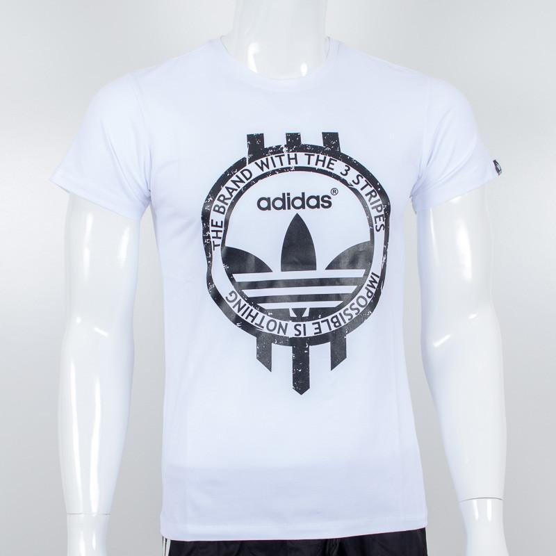 Спортивная футболка, Adidas (Белый)