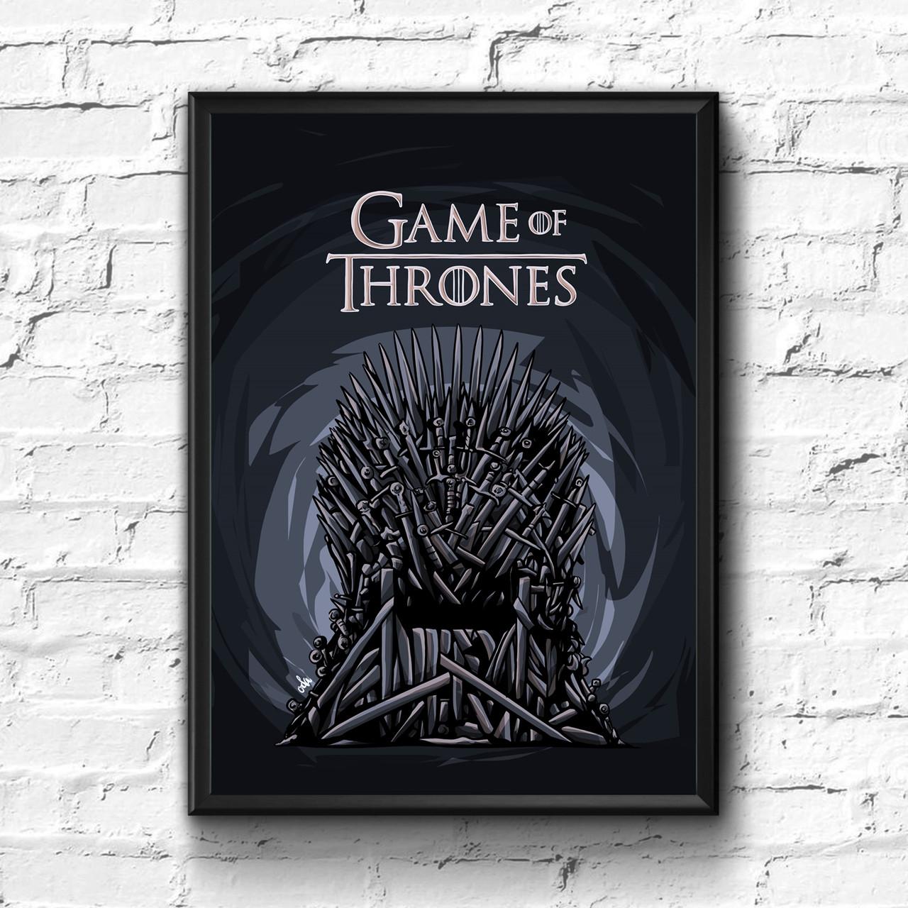 Постер с рамкой Game of Thrones #6
