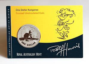 Монета Австралии 1 доллар 2007 г. В упаковке