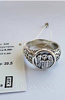 Серебряный перстень Архангел Михаил с чернением