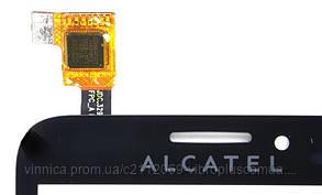 Тачскрин (сенсор) Alcatel 7020 One Touch Fierce, black (чёрный), фото 2