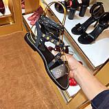 Босоножки Луи Витон Passenger натуральная кожа, фото 8