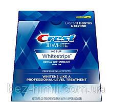 Професійне відбілювання Crest Professional Effects. 20 смужок на 10 днів. Половина упаковки