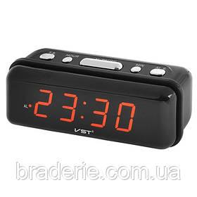 Часы электронные сетевые VST 738-1 Красное свечение