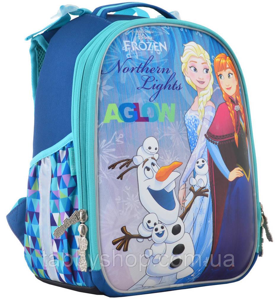 """Рюкзак шкільний ортопедичний каркасний """"1 Вересня"""" H-25 Frozen"""