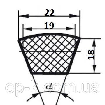 Ремень  SPC (УВ)-4380, фото 2