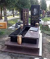 Пам'ятник гранітний одинарний Елітний L0105