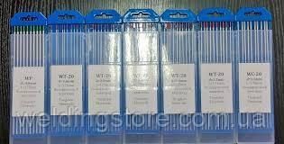 Вольфрамовый электрод WL-20 1.0 мм, 1 шт.