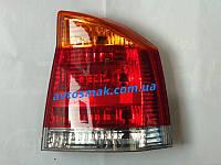 Фонарь задний для Opel Vectra C '02-08 правый (DEPO) желто-красный, фото 1