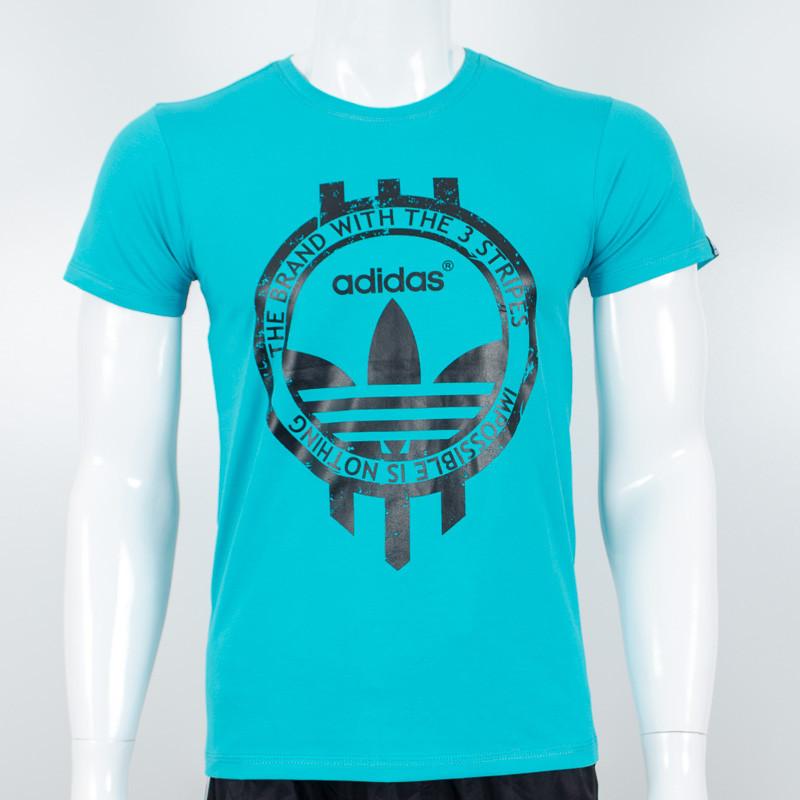 Спортивная футболка, Adidas (Бирюза)