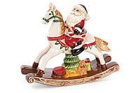 Декоративная статуэтка Санта на лошади, 23см BonaDi 827-420
