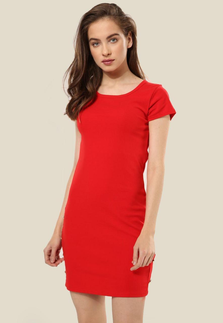 62885b4e490 Красное Платье S M - Интернет магазин