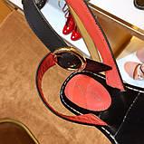 Босоножки Луи Витон Passenger натуральная кожа , фото 3