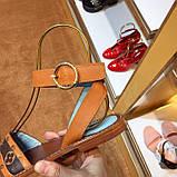 Босоножки Луи Витон Passenger натуральная кожа , фото 6